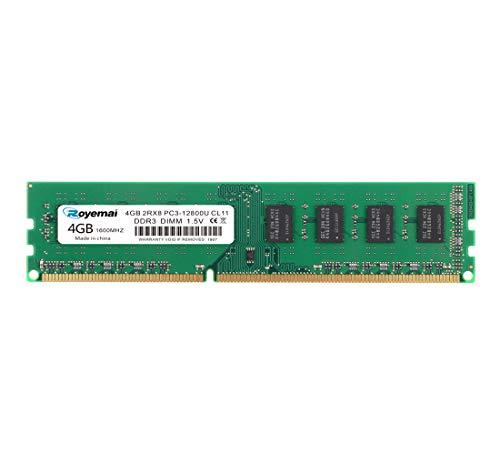 DDR3 1600mhz PC3-12800 4GBx1枚 デスクトップPC用メモリ 1.5V 240pin CL11 Non-ECC