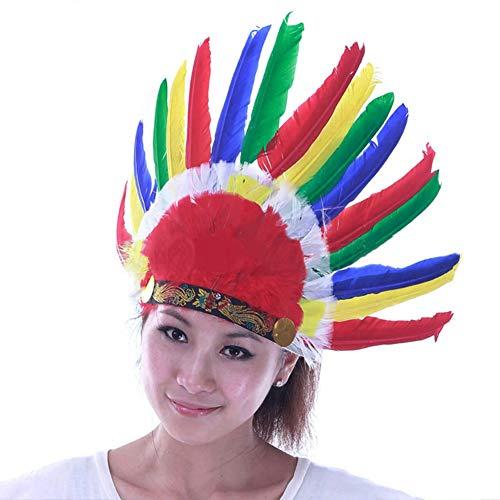 Yiwa Indiaanse Savage Kostuum Party Accessoires