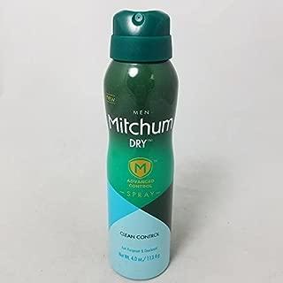 Mitchum for Men Anti-Perspirant & Deodorant Dry Spray - Net Wt. 4 oz (4 Pack) by Mitchum