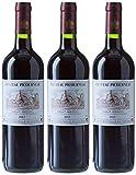 Vin Rouge, Chateau Picourneau, France Bordeaux Vin Rouge Haut Médoc AOC, 2011/2012, 75 cl - Lot de 3