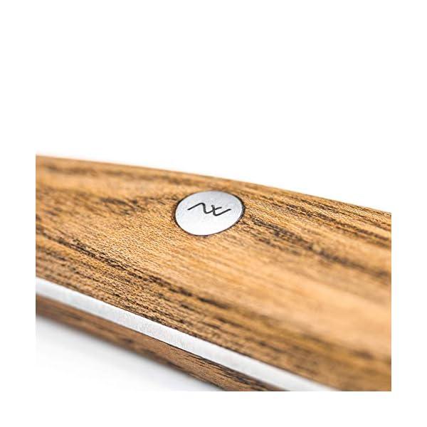 """Rockingham Forge - Cuchillo con hoja de acero vanadio y tratamiento de calor, 10 cm, 4,5""""/11 cm"""