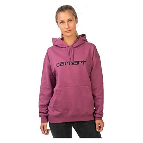 Carhartt Felpa Donna I02747603 Dusty Fuchsia AI19 XS