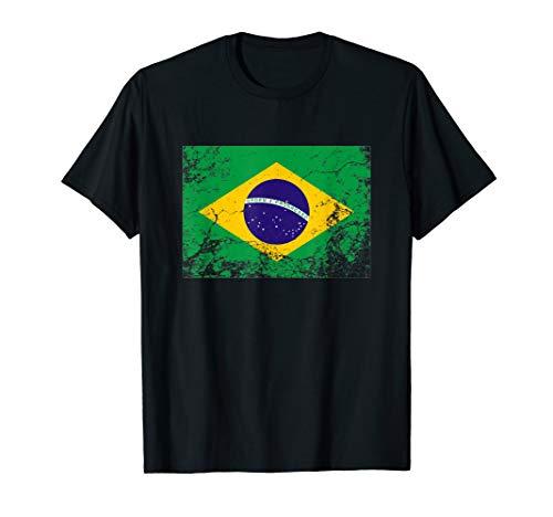 Brasilien Flagge tshirt für Männer Frauen und Kinder T-Shirt