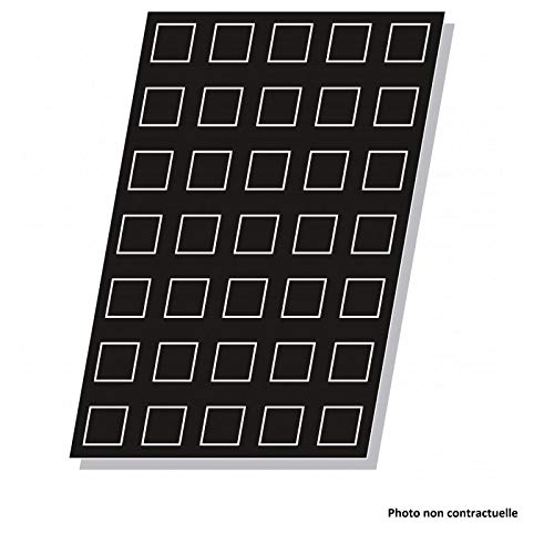 Pujadas P859.110 Moule pyramide flexible 24 trous 71 x 71 mm