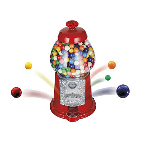 The Candery Gumball Machine - 12 Inch Candy Dispenser for 0.62 Inch...