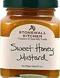 Stonewall Kitchen Mostaza, dulce miel, 8.5 onzas Amarillo...