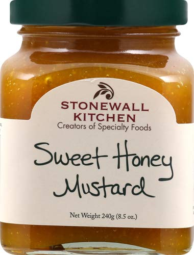 Stonewall Kitchen Mostaza, dulce miel, 8.5 onzas Amarillo