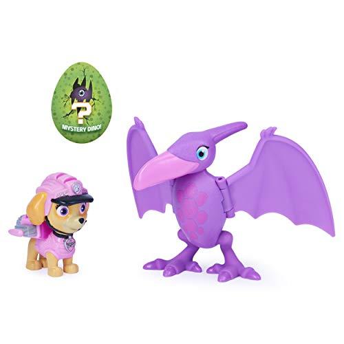 PAW Patrol Dino Rescue Skye und Dinosaurier Actionfiguren-Set für Kinder ab 3 Jahren