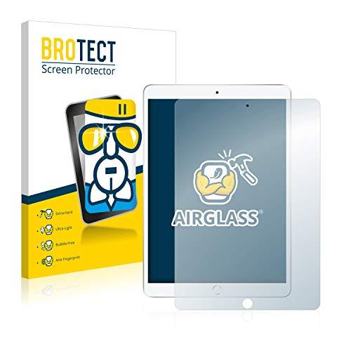 BROTECT Panzerglas Schutzfolie kompatibel mit Apple iPad Air 2019 (3. Generation) - AirGlass, extrem Kratzfest, Anti-Fingerprint, Ultra-transparent