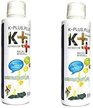 Foodie Puppies Aquatic Remedies K++ Potassium Manganese Calcium Aquarium Plant Fertilizer with Free Pop - Up, 220ml (Pack ...