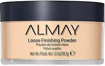 Almay Loose Finishing Powder, Natural Finish Mattifying Makeup Setting Powder, Hypoallergenic, Cruelty Free, Fragrance Free, Dermatologist Tested, 200 Light Medium, 1 oz