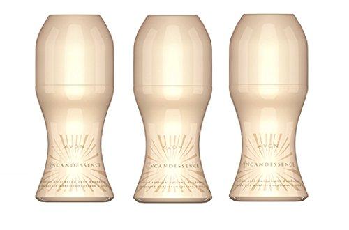 Avon Incandessence Roll On anti Perspirant Desodorante–3x 50ml
