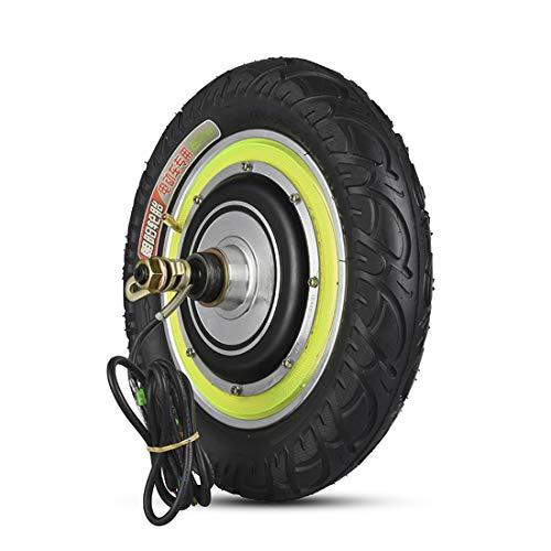 12 Zoll Elektroroller Motor 36V 350W 500W Nabenmotor Motor Bürstenloses Hochgeschwindigkeitsmotorrad für Elektromotor Skateboard Mobilität Roller Kraftfahrzeug Zubehör DIY Teil (12inch 36V 500W)