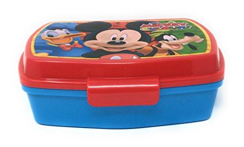 Mickey-Sandwichera rectangular de Mickey Fruits