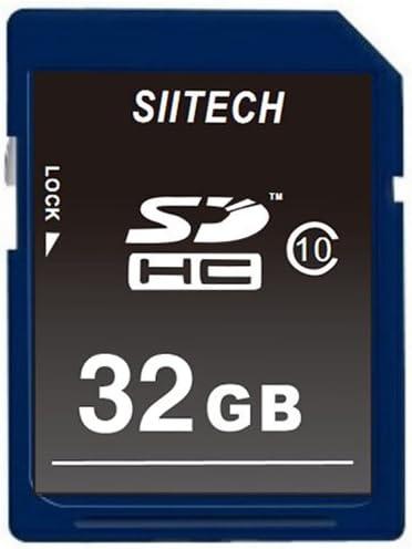 Siitech Premium SDHC Class 10 SD Memory Card 32GB