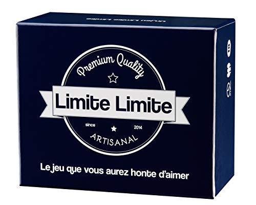 Limite Limite - Le Jeu Que Vous aurez honte d'aimer - Jeu de Société pour Adultes - Humour Noir