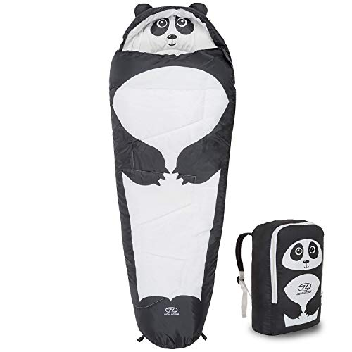 Highlander Unisex's Creature Sleeping Bag, Panda, One Size