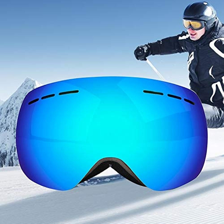 Easy Go Shopping H008 Unisex Dual Layers Weitsicht Myopiefreundlich Anti-Fog Anti-Fog Anti-Fog Windschutz UV Schutz Sphärische Brille mit verstellbarem Gurt B07NVLVSFC  Ausgezeichnete Dehnung e296a7