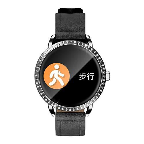 HX0945 H7 Touch-Smart-armband voor dames, fitness-armband, leer, hartslagmonitor, bluetooth, horloges, bloeddruktrainingsmodi, cadeau