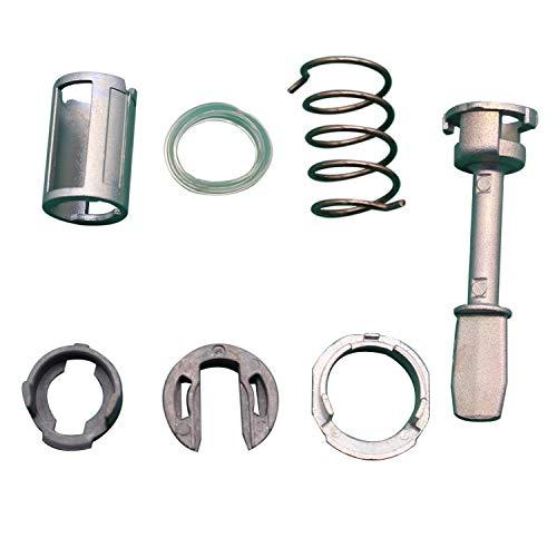 TAKPART Türschloss Schliesszylinder Reparatursatz Ersatzteile Vorne Links oder Rechts für Passat Lupo 3B0837167