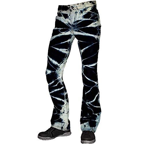 Rock Rag - Bleach, Hose, Blau im Skinny-Fit Style (38)