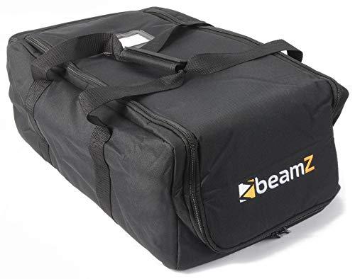 BeamZ AC-131 – Valise souple pour projecteurs BeamZ, couleur noire, 530 x 215 x 330mm, transport de jeux de lumière, idéal DJ mobiles
