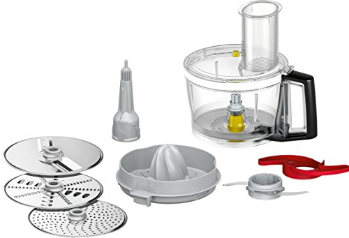Bosch MUZ9VLP1 Accesorio optimum para procesador de alimentos, Stainless Steel, Schwarz, Grau, Metallisch, Transparent