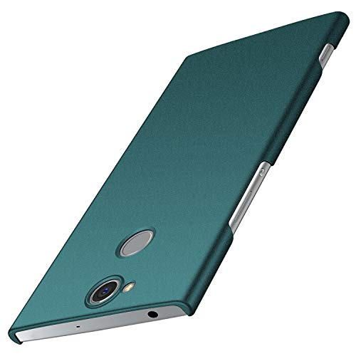 Avalri für Sony Xperia XA2 Plus Hülle, Superdünne Handyhülle Hardcase aus PC Stoß- & Kratzfest Kompatibel mit Sony Xperia XA2 Plus (Kies Grün)