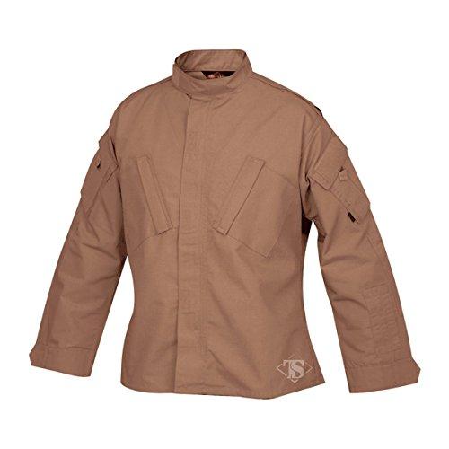 Tru-spec 1269006 Tactical réponse uniforme Chemise, coton Polyester indéchirable, XL Regular, Coyote