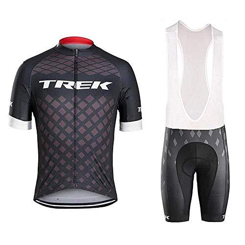 logas Radtrikot Set Herren Team Raddress Kurz Atmungsaktiv MTB Shirt+Hose mit sitzpolster