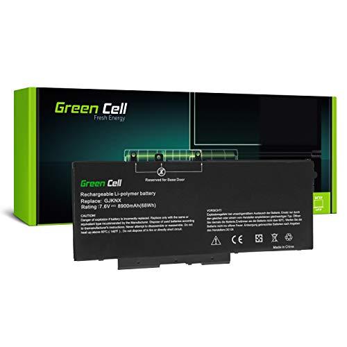 Green Cell® 93FTF GJKNX Laptop Akku für Dell Latitude 5280 5290 5480 5490 5491 5495 5580 5590 5591 Precision 3520 3530 (Li-Polymer Zellen 8900mAh 7.6V)