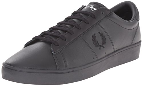 Fred Perry Woman Sneaker Spencer Leather Black