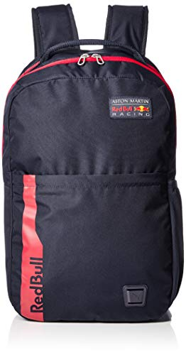 Red Bull Racing Official Teamline Rucksack, Unisex One Size - Original Merchandise
