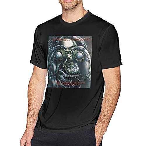 Je-Thro Tu-Ll Stormwatch Men Classic Breathable Crew T Shirt Fashion Short Sleeve Tee Mans Casual Tops Black