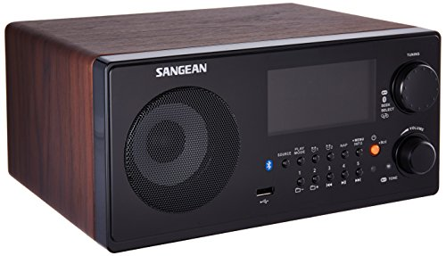 Sangean WR-22WL AM/FM-RBDS/Bluetooth/USB Tabletop Radio