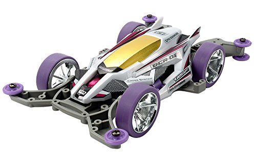 TAMIYA 319115372, Kit MA chassis, Mini 4 WD, 4X4, DCR 01, scala 1/32,Viola (purple special)
