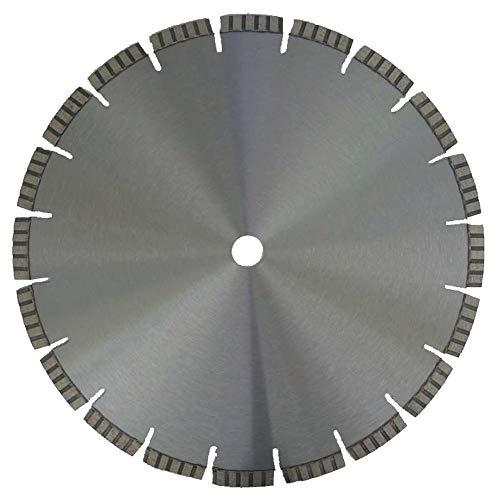 Diamant Trennscheibe LTB_Ø 300 mm, B= Ø 30,0 mm, Diamantscheibe Profi Qualität, Lasergeschweißte Turbosegment 10 mm, Stahlbeton + alle Betonprodukte, Granit, Ziegel, Universal,