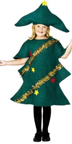 Fancy Me Bambino Ragazze dei Bambini dell' Albero di Natale Festive Costume Travestimento 4–12Anni
