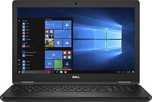 Dell Precision 3520 Business Workstation-laptop 15.6' Screen Intel Processor Microsoft Windows 10 Pro 12 Months Warranty (Core i7, 32GB RAM, 512GB SSD) (Renewed)