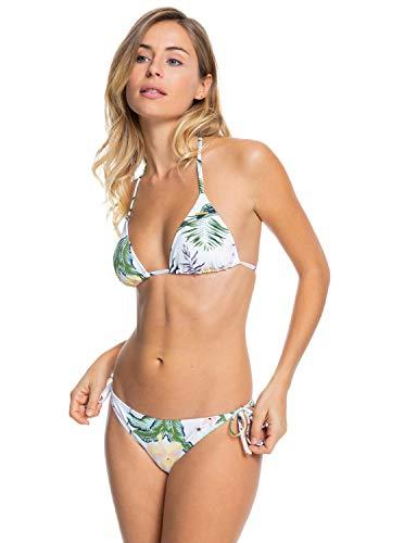 Roxy Conjunto de Bikini Tiki Tri para Mujer Traje de baño de 2 Piezas Mujer