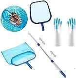 Shengruili Aspiradora de piscina, juego de limpieza de piscina, aspirador de piscina, aspirador portátil, cabezal de vacío, limpieza de piscina