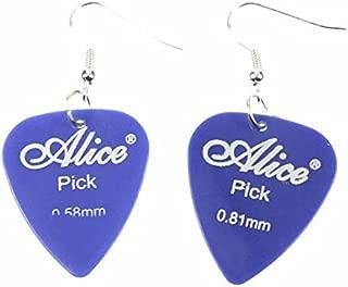 Electric guitar earrings Boucle d/'oreille puce guitare électrique argent 925
