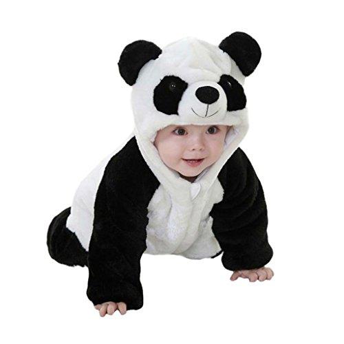 Zhouba, calda tuta da panda per neonato, per l'inverno As the pictures show 0 - 6 mesi