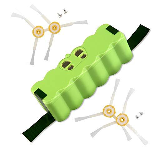 LabTEC 500 Akku 14.4 V 5200 mAh Lithium Batterie wechsel für iRobot Roomba Akku 14.4V 500 600 700 800 Serie 510 530 540 550 560 570 580 620 760 770 780 790 870 880 980 R3R3 Roboter-Staubsaugerbatterie