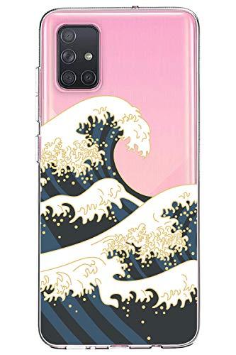 Oihxse kompatibel mit Huawei P20 Lite/Nova 3e Hülle,TPU Bumper mit Silikon Hülle Durchsichtig Schutzhülle Transparent Case Original Design Weich Slim rutschfest Stoßfest Cartoon Handyhülle Cover(A4)