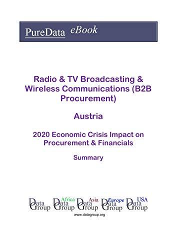 Radio & TV Broadcasting & Wireless Communications (B2B Procurement) Austria Summary: 2020 Economic Crisis Impact on Revenues & Financials (English Edition)