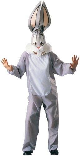 Rubie's Loones Tunes-Bugs Bunny-Kostüm für Erwachsene grau-Weiss Einheitsgröße