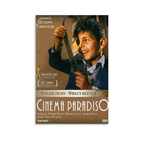 Nuovo Cinema Paradiso Story of Love - Poster per film e serie TV, stampa artistica su tela e poster da parete, 30 x 45 cm