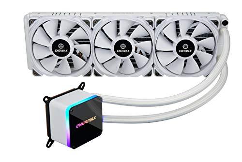 Enermax LiqTech II RGB 360 white version (ELC-LTTO360-TBP-W) Sistema di Raffreddamento a Liquido All-in-One RGB per CPU AMD e Intel con Radiatore da 360mm