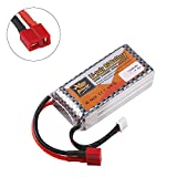 Hootracker ZOP Power 1500mAh 11.1V 3S LiPo Battery 40C T Plug for RC Car Airplane Helicopter